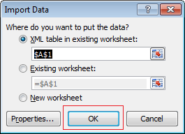 6. Select where do you want to add new data